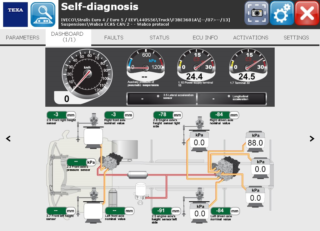 TEXA UK Ltd  - IDC4E TRUCK 37: NEW DIAGNOSTIC FEATURES