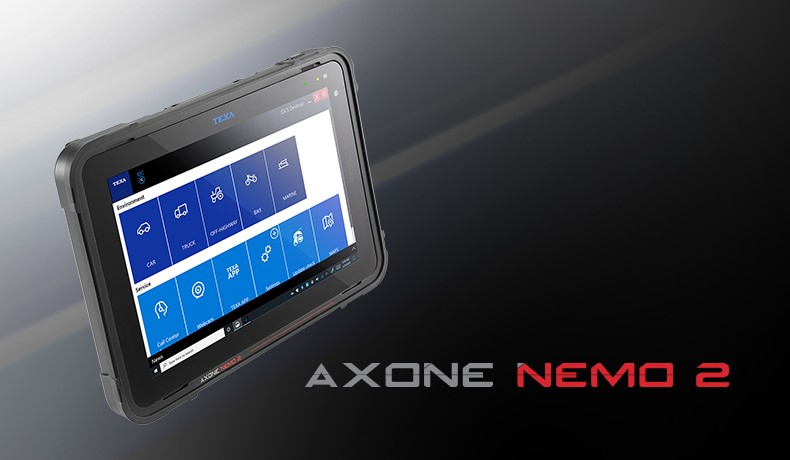 TEXA PRESENTS AXONE NEMO 2 THE LATEST FRONTIER OF MULTI-BRAND DIAGNOSIS
