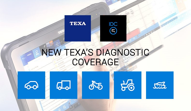 TEXA'S DIAGNOSTIC COVERAGE: A COMPLETELY RENEWED PORTAL IS NOW ONLINE